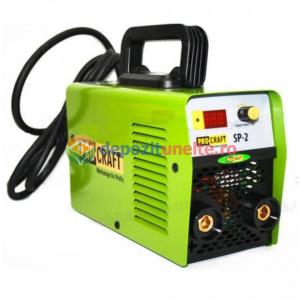 INVERTOR SUDURA PROCRAFT 270D , AFISAJ ELECTRONIC + ACCESORII, ELECTROD 1.6-4MM