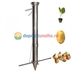 Plantator rasaduri, rosii, ardei, bulbi, cartofi INTEGRAL din INOX - CALITATE PREMIUM