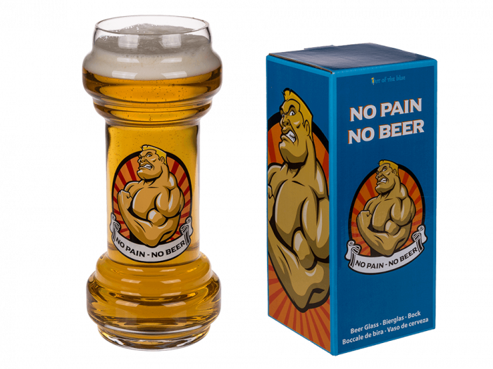 Pahar bere No pain-No beer