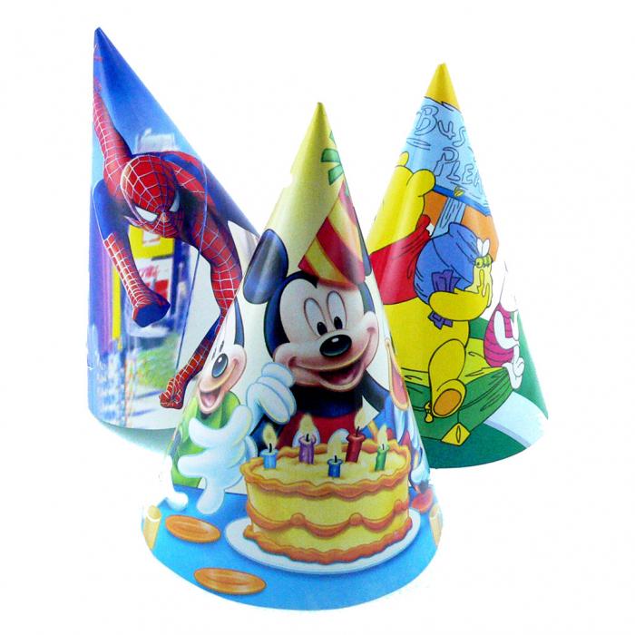 Coif Disney party mic de carton