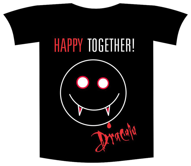 """Tricou imprimat """"Happy together"""""""
