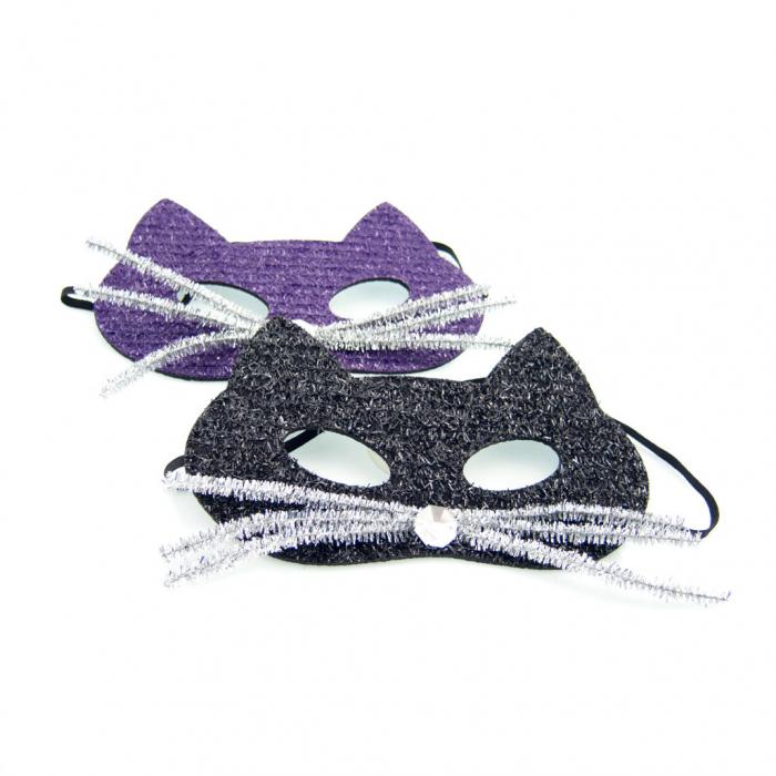 Masca pisica cu mustata