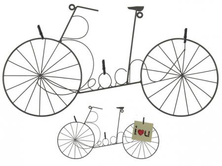 Suport 3 fotografii bicicleta