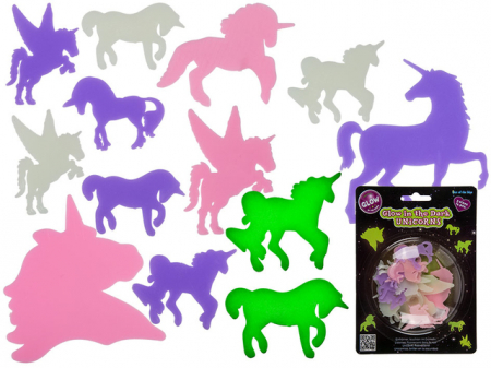 "Set Unicorni ""Glow in the dark"""