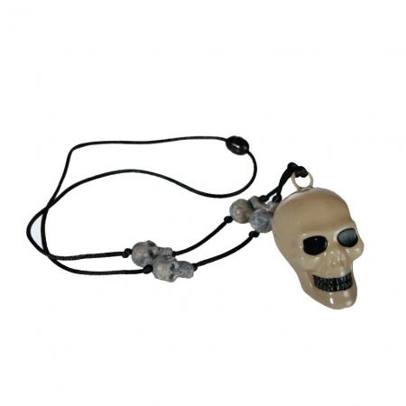 Colier craniu schelet