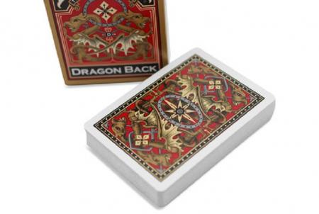 Carti Poker Bicycle Dragon Back