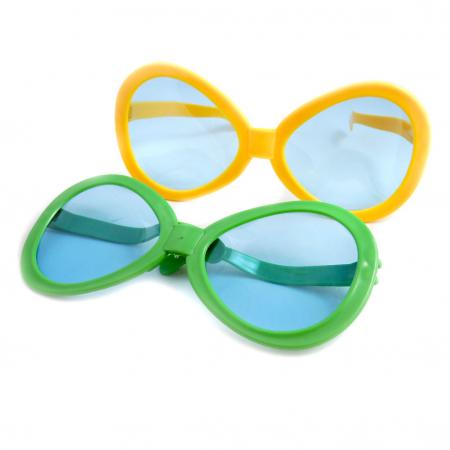 Ochelari de soare uriasi simpli