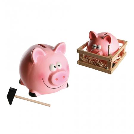 Pusculita mica porc cu ciocan