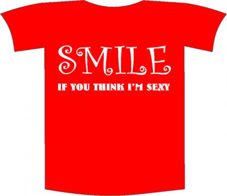 "Tricou imprimat ""Smile"""