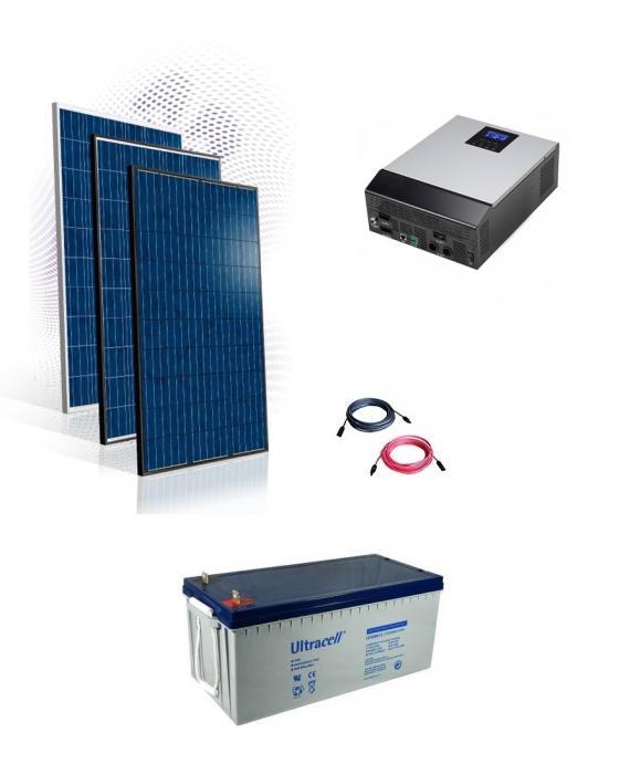 Sistem fotovoltaic Hibrid 10kw-big
