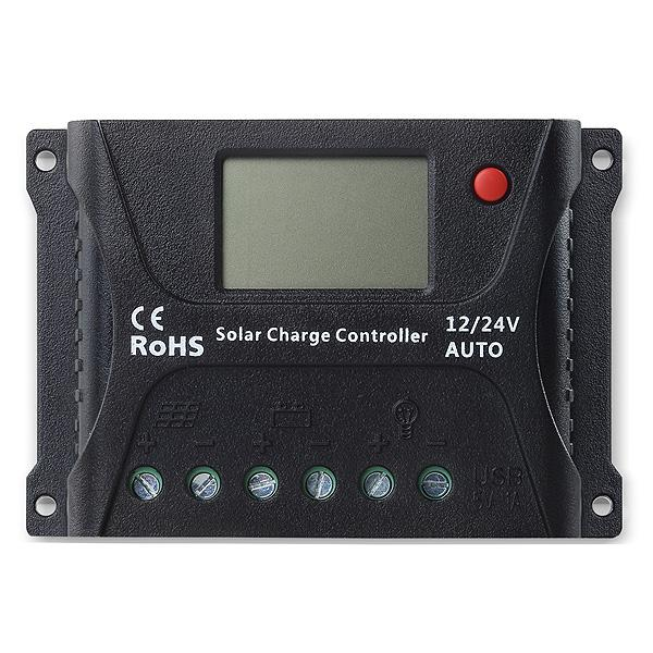 Controller solar Powersave PWM 10A 12/24V SR-HP2410-big