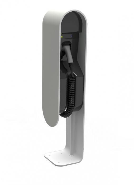 Stație de încărcare EVita aluminum 16A/3F T2 Coiled + DC protection-big
