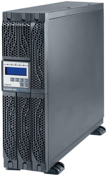 UPS Legrand DAKER DK + Tower/Rack, 6000VA/6000W, On Line Double Conversion, Sinusoidal, PFC, USB & RS232 port, 8x IEC C13 & 2x IEC C19-big