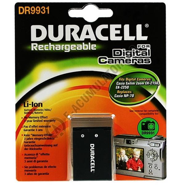 Acumulator Duracell DR9931 pentru camere digitale-big