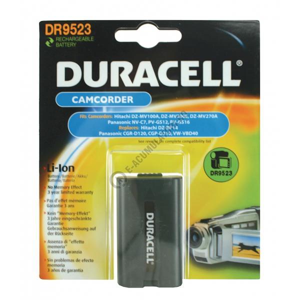 Acumulator Duracell DR9523 pentru camere video-big