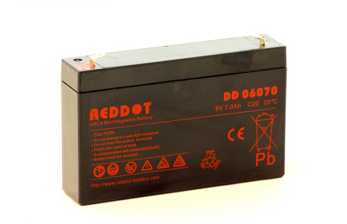 Acumulator stationar Reddot 6V 7Ah-big