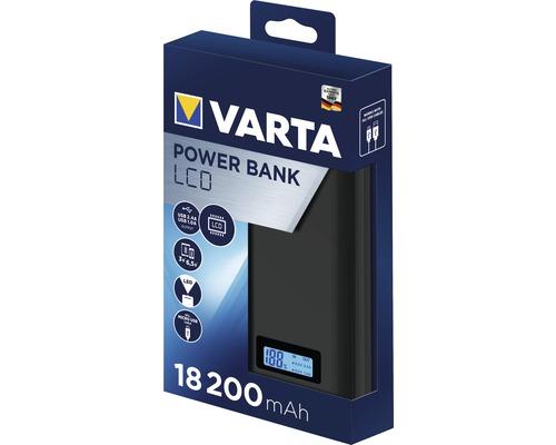 Baterie externa Varta 18.200mAh, ecran LCD, culoare antracit 57972-big