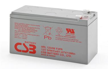 Acumulator VRLA CSB HRL1234W F2FR 12V 9.0Ah 34W/Cell-big