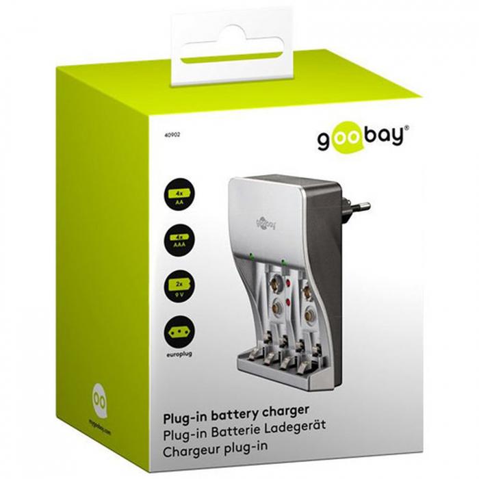 Incarcator Goobay 40902 AA / AAA / 9V-big