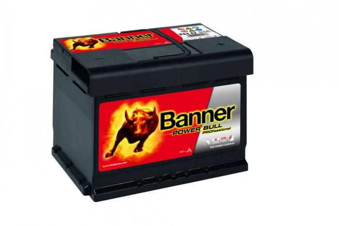Baterie Auto Banner Power Bull PRO 63 Ah cod P6342-big