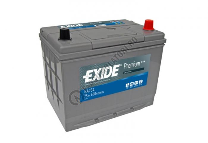 Acumulator Auto Exide ASIA Premium 75 Ah cod EA754-big