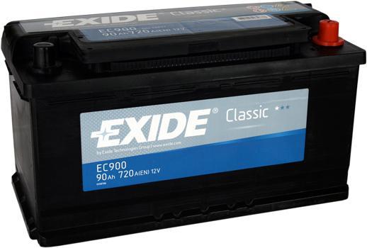 Acumulator Auto Exide Classic 90 Ah cod EC900-big