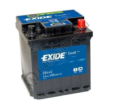 Acumulator Auto Exide Excell 44 Ah cod EB440-big