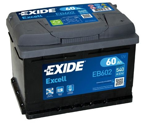 Acumulator Auto Exide Excell 60 Ah cod EB602-big