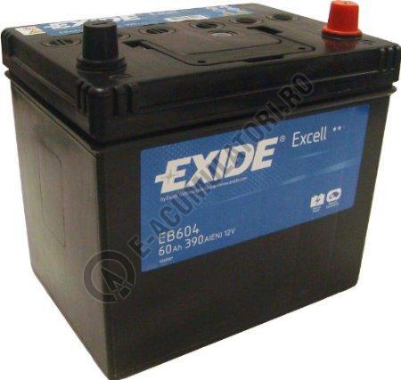Acumulator Auto Exide Excell 60 Ah Asia cod EB604-big