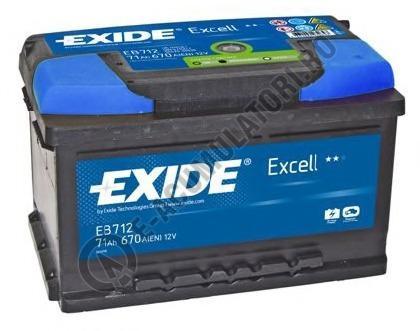 Acumulator Auto Exide Excell 71 Ah cod EB712-big