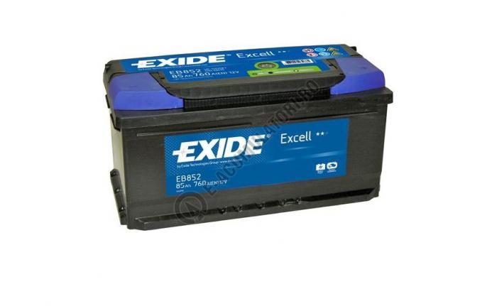 Acumulator Auto Exide Excell 85 Ah cod EB852-big