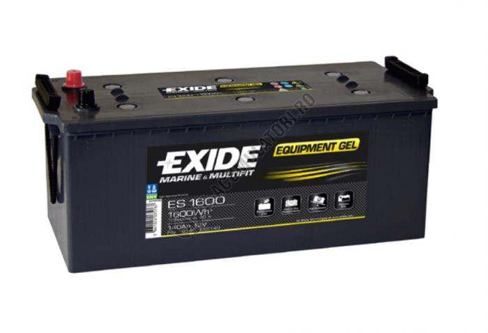 Acumulator Auto Exide GEL 140 Ah cod ES1600-big