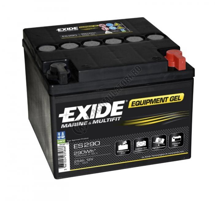 Acumulator Auto Exide GEL 25 Ah cod ES290-big