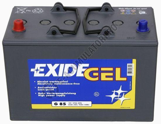 Acumulator Auto Exide GEL 85 Ah cod G85-big