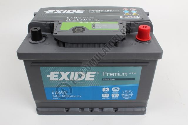 Acumulator Auto Exide Premium 61 Ah cod EA612-big
