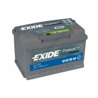 Acumulator Auto Exide Premium 72 Ah cod EA722-big