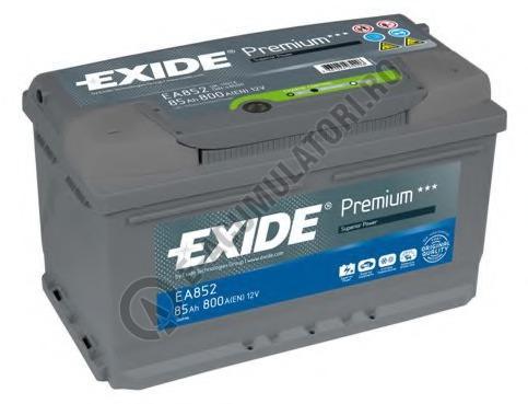 Acumulator Auto Exide Premium 85 Ah cod EA852-big