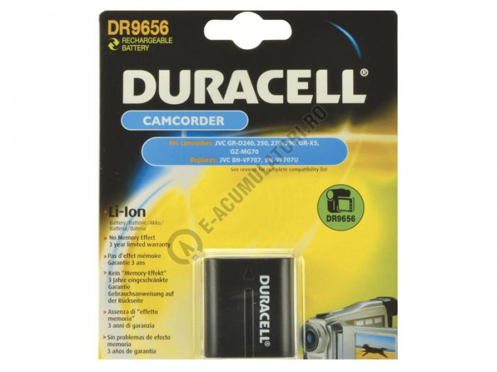 Acumulator Duracell DR9656 pentru camere video-big