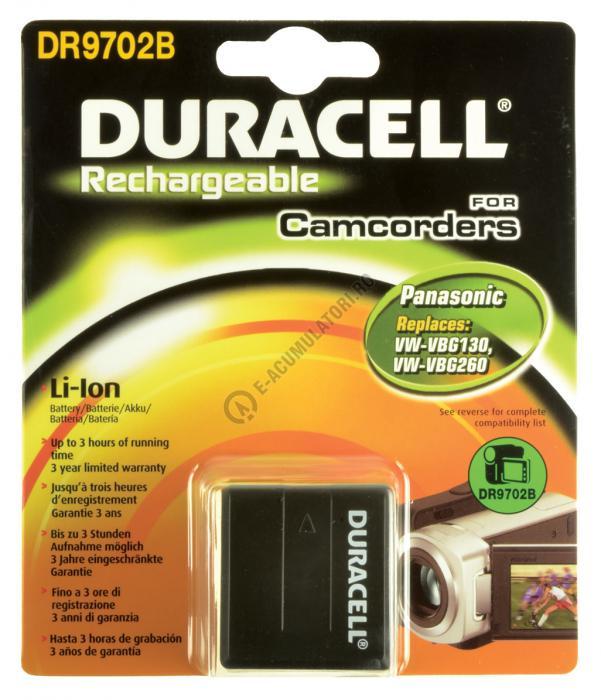 Acumulator Duracell DR9702B pentru camere video-big