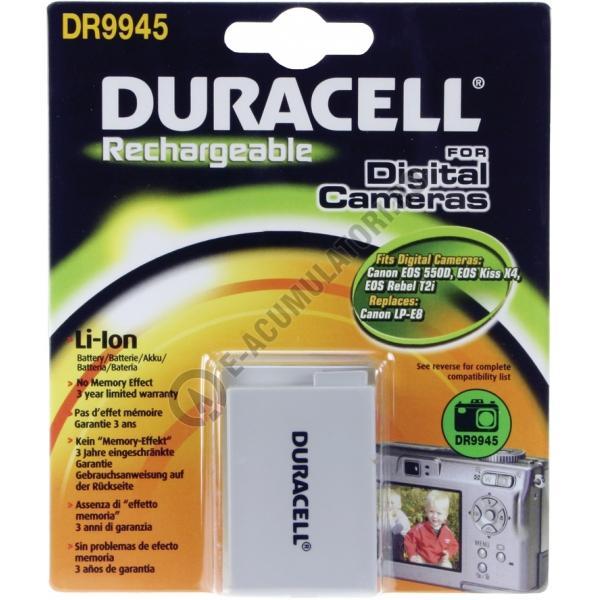 Acumulator Duracell DR9945 pentru camere digitale-big