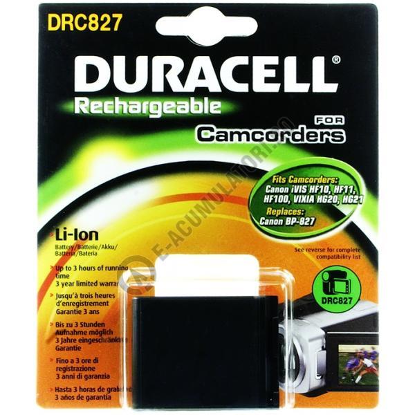 Acumulator Duracell DRC827 pentru camere foto-big