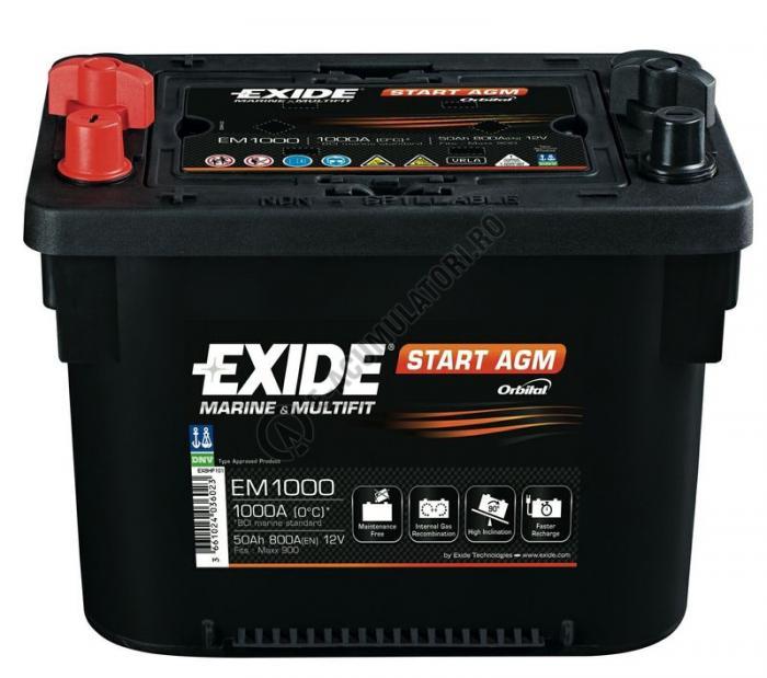 Acumulator Exide MAXXIMA EM1000 50 Ah-big