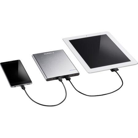 Acumulator extern Varta Slim 12000mAh USB-A si USB-C Litiu-Polimer-big