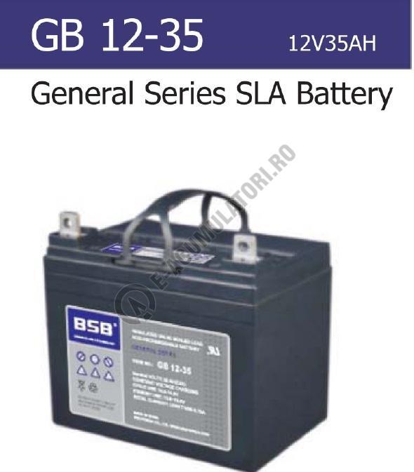 Acumulator VRLA BSB 12V 35 Ah cod GB12-35-big