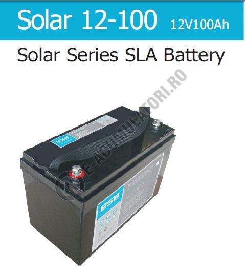 Acumulator VRLA cu GEL BSB 12 V 100 Ah cod SOLAR12-100-big