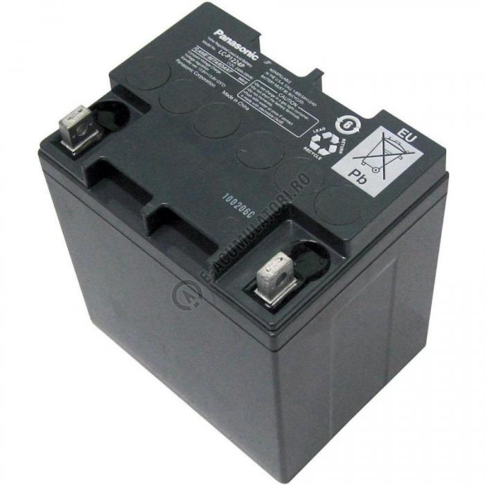 Acumulator VRLA Panasonic 12V 24 Ah cod LC-P1224APG (M5 nut & threated post)-big