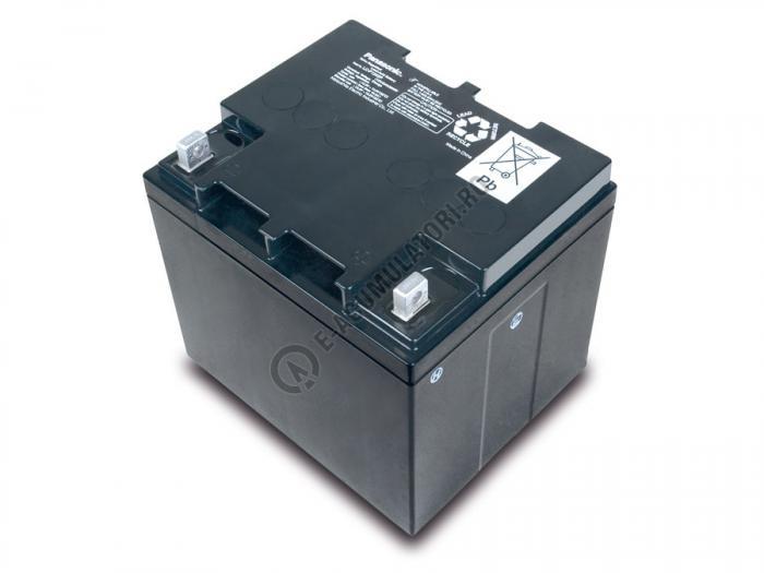 Acumulator VRLA Panasonic 12V 42 Ah cod LC-P1242AP (M5 nut & threated post)-big