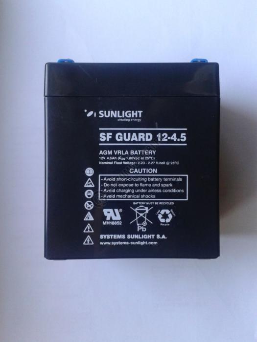 Acumulator VRLA SUNLIGHT 12V 4.5 Ah cod SPA 12-4.5-big
