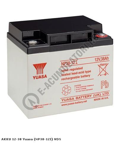 Acumulator VRLA Genesis 12V, 38Ah NP38-12-big
