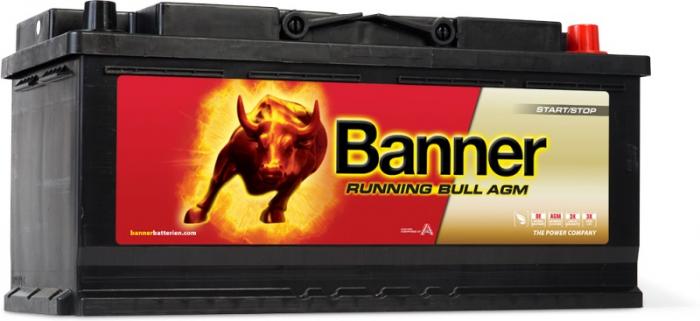Baterie Auto Banner Running Bull AGM 105 ah cod 60501-big